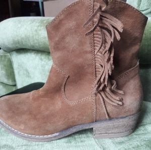 Limelight suede boots